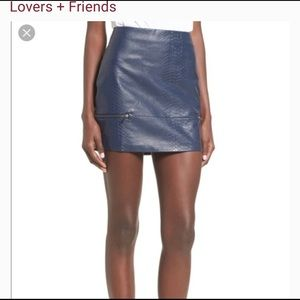 Lovers and Friends 'Good to be Bad' mini skirt